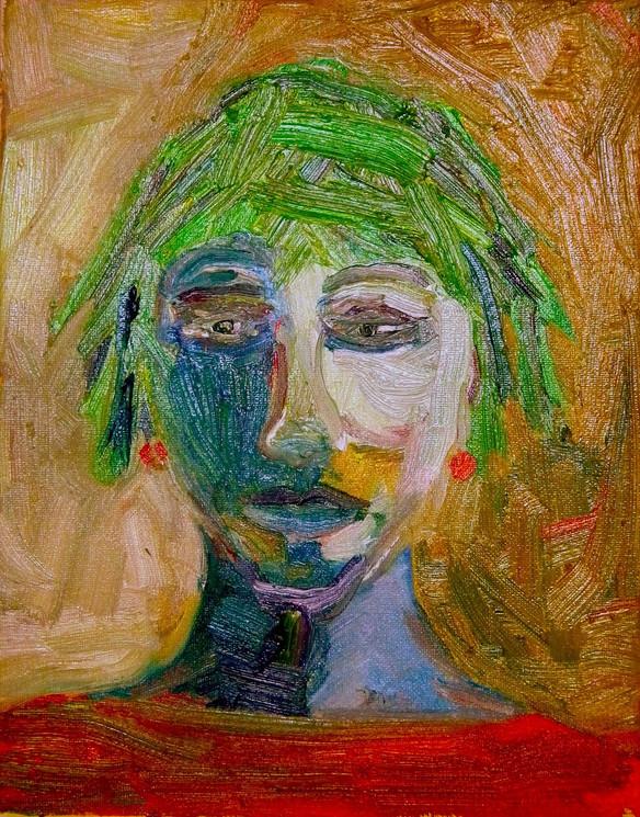 Green-Haired Girl