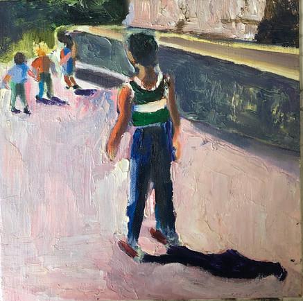 boy in piazza ii