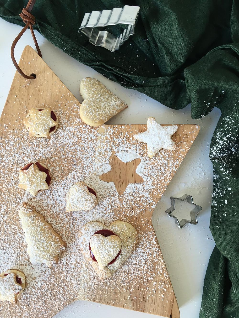 Weihnachtskekse backen ohne tierische Produkte