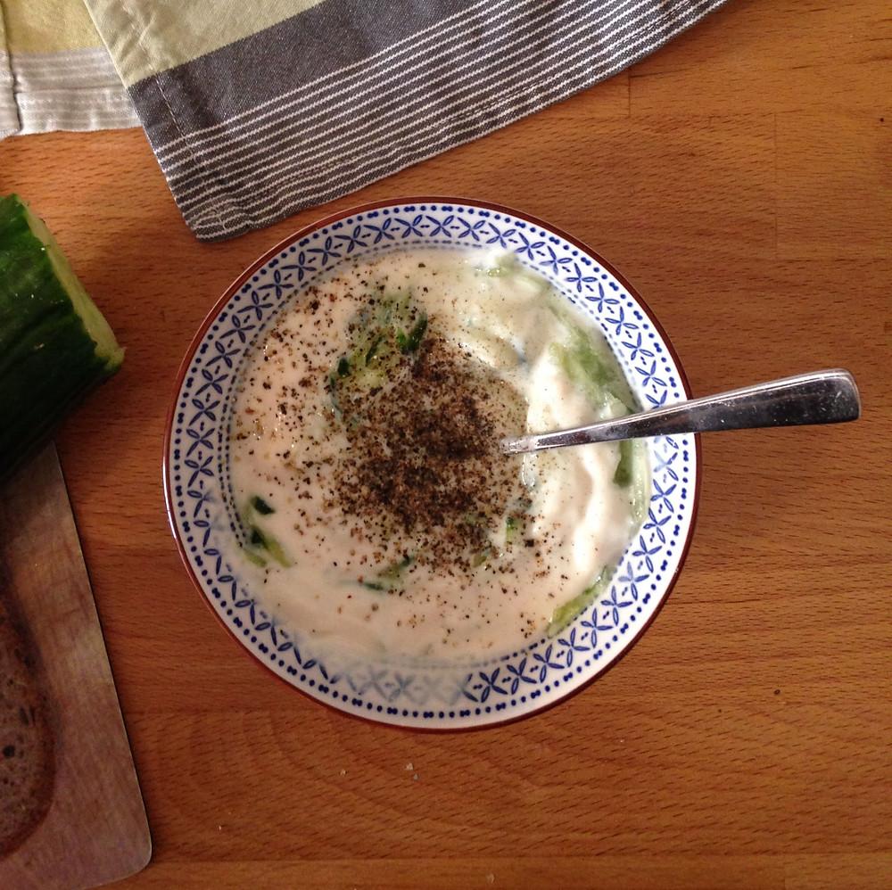 veganes Tzatziki von mitbauchgefuehl