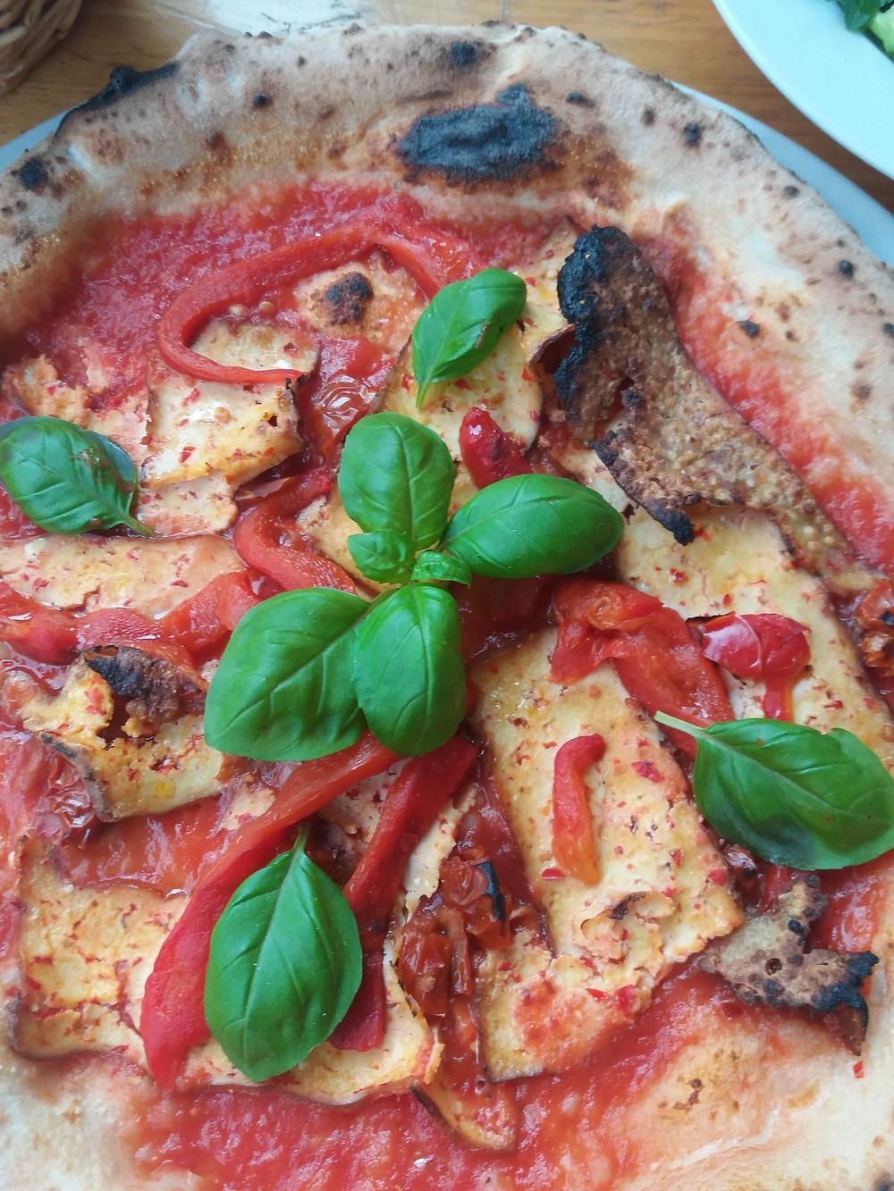 vegane Pizza (La Stella Nera Berlin)