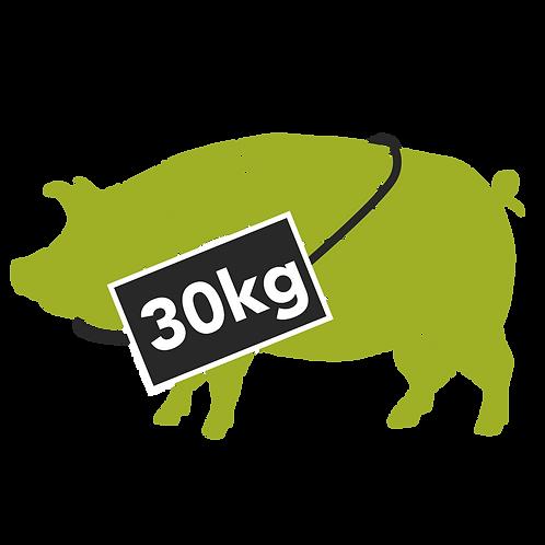 pig half - 30kg (deposit payment only)