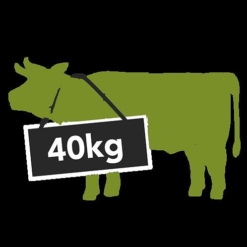 beef forequarter - 40kg / 17.20/kg ($200 deposit payment only)