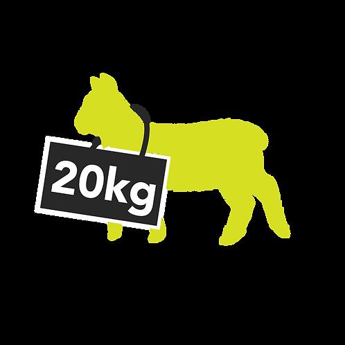 lamb whole - 20kg