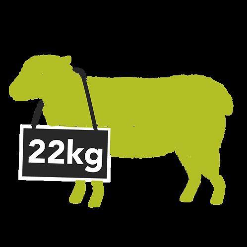 mutton whole - 22kg