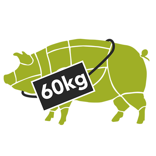 pig whole - 60kg (deposit payment only)