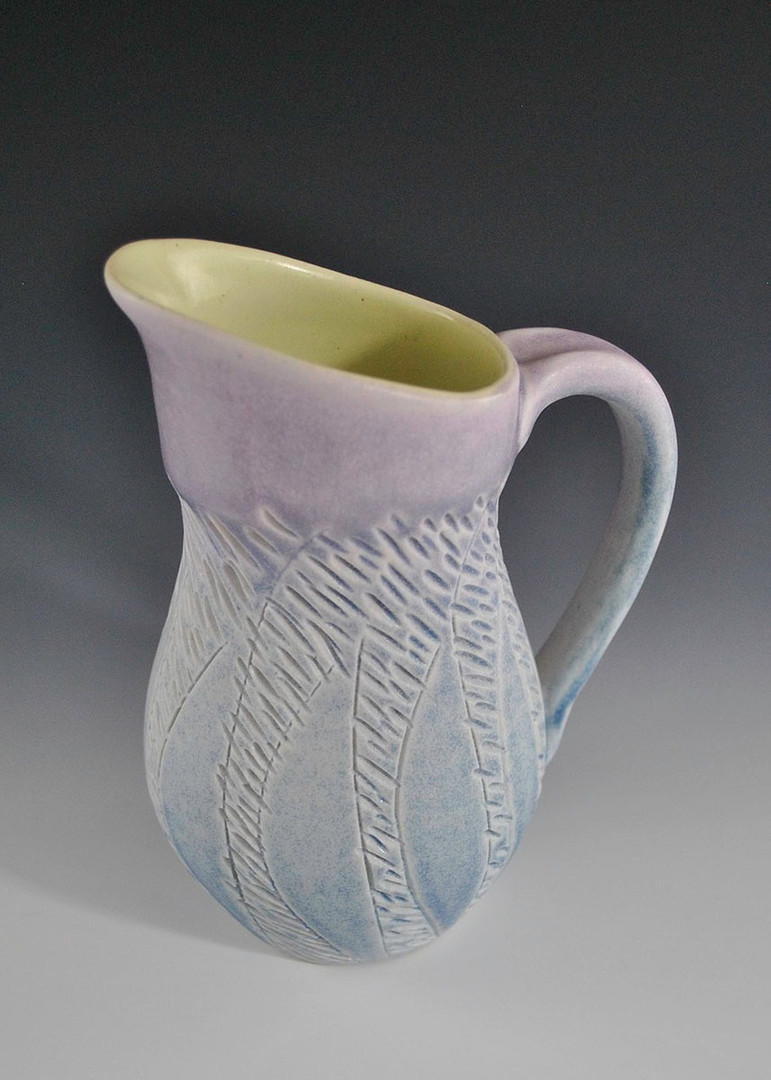 Pitcher with Trees