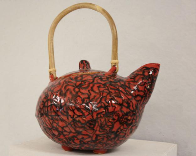 Hand Built Teapot