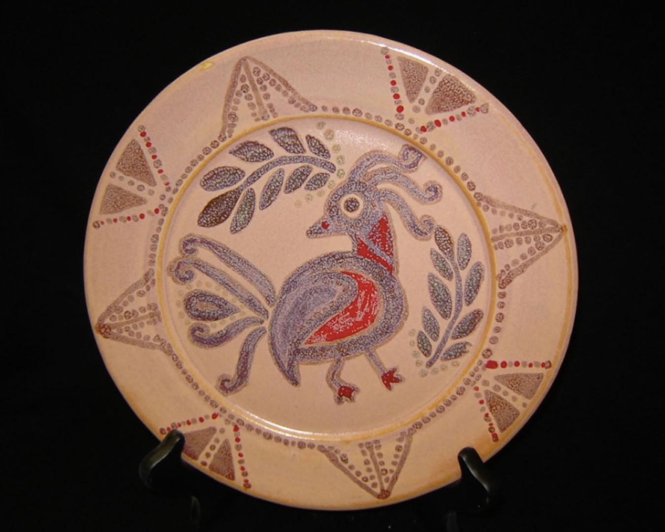 Wheel Thrown Plate