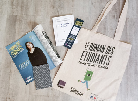 Prix Roman des Etudiants 2018