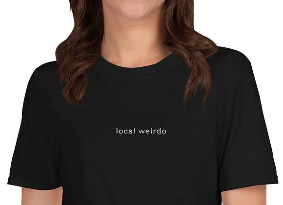 local weirdo shirt - black