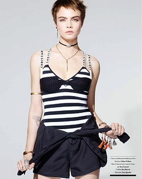 Cara Delevingne - Trajectoire Magazine - Manon Voland