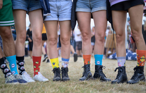 Socks passion, Paléo Festival Nyon, Juillet 2019