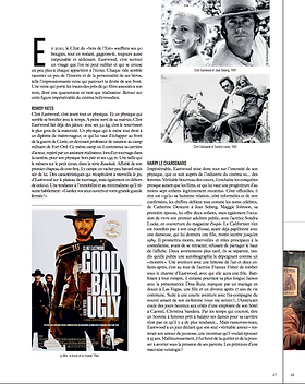 Clint Eastwood - Trajectoire Magazine - Manon Voland