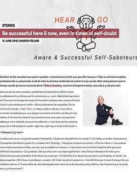 Article ImpactHub Geneva - Manon Voland - Succès