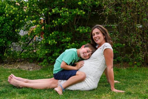 Katie & Family, Son, Avril 2020