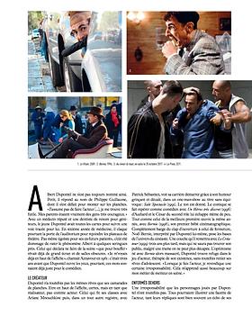 Albert Dupontel - Trajectoire Magazine - Manon Voland