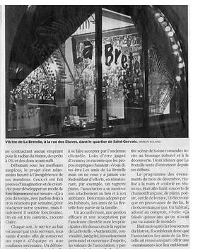 Articles Tribune de Genève - Manon Voland