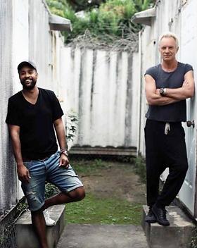 Sting & Shaggy Interview - Trajectoire Magazine - Manon Voland