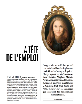 Princesses roturières - Trajectoire Magazine - Manon Voland
