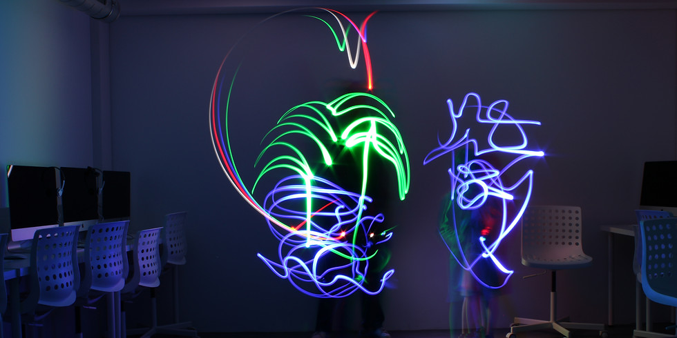 """Atelier """"Light Painting"""" 