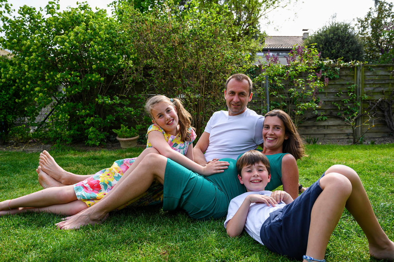 Katie & Family, Seance Famille, Avril 2020