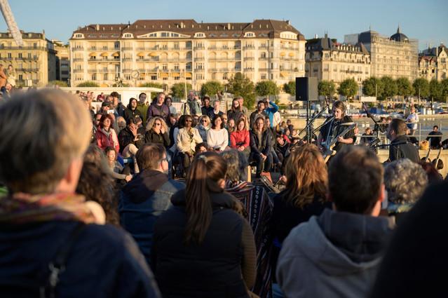 Crowd, Aubes Musicales, Août 2019