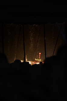 Ambiance pluvieuse, Paléo Festival Nyon, Juillet 2019