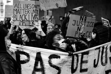 No justice, no peace, BLM, Juin 2020