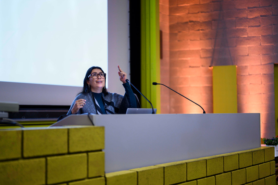 Andrea de Zhandumaya, Semaine Mondiale de l'Entrepreneuriat, Université de Genève, Novembre 2019