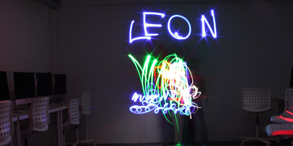 """Atelier """"Light Painting""""   4-6 ans   COMPLET"""
