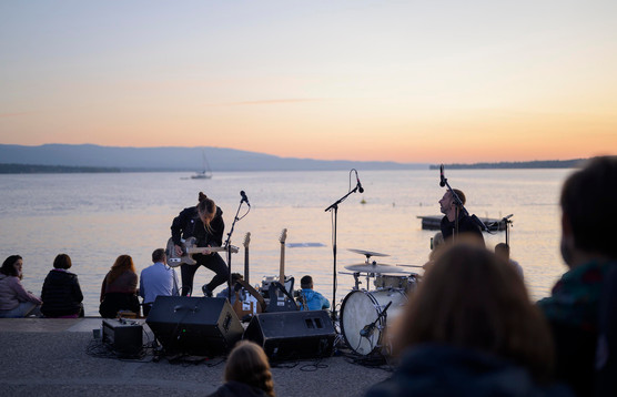 By the lake, Aubes Musicales, Août 2019