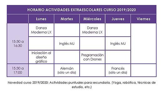 HORARIO EXTRAESCOLARES CURSO 2019-2020.j