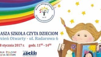 Wielkie czytanie w Warsaw Bilingual School