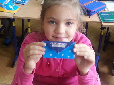 portfelik Grosika - origami