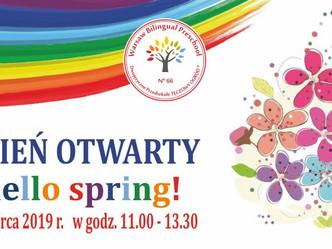 """Hello spring!"" - Dzień Otwarty"