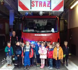 Z wizytą u strażaków