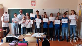 Certyfikaty za udział w projekcie Erasmus+