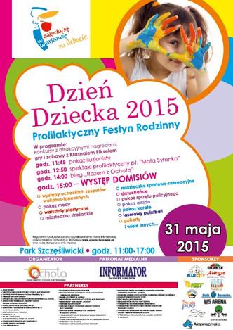 Festyn Rodzinny na Dzień Dziecka