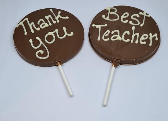 Teacher Lolipop Gifts