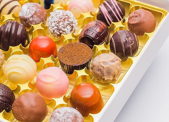 Luxury Gift Box for 25 Truffles