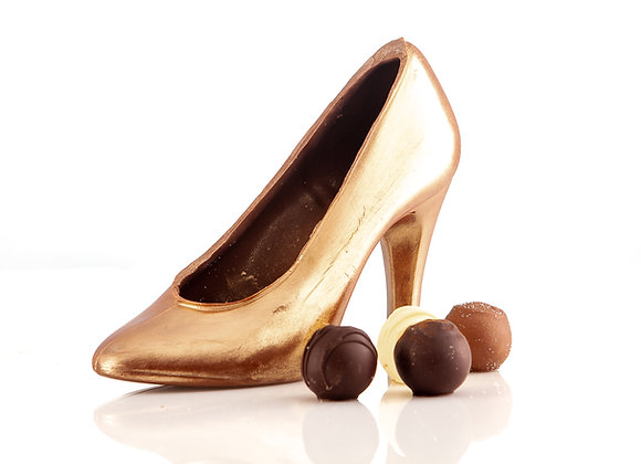 Handmade Chocolate Shoe