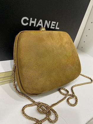Chanel Vintage Irridescent Clutch