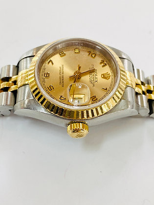 Rolex Oyster Datejust Two Tone