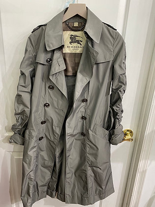 Burberry Olive Trench Coat