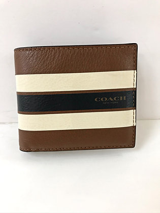 Coach Striped Wallet