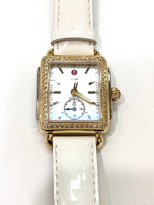 Michele Deco Diamonds Watch
