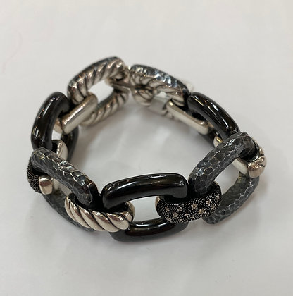 David Yurman Midnight Melange Link Bracelet