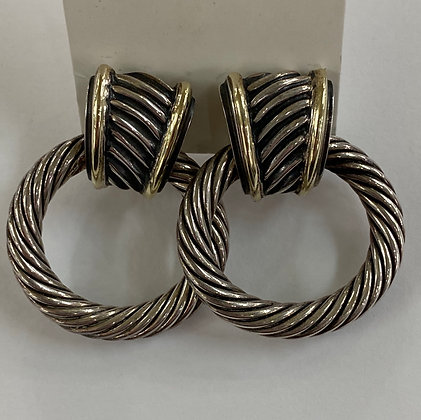 David Yurman Doorknocker Earrings
