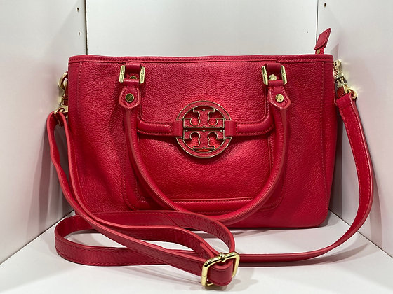 Tory Burch Salmon Amanda Satchel